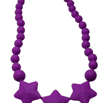 Stars-Teething Necklace