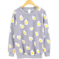 EGG PATTERN SWEATER