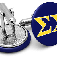 Sigma Chi Letters Cufflinks