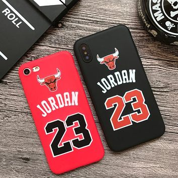 8296a2764af05c Hot Jordan 23 Chicago bull sports soft silicon cover case for ip.    Compatible iPhone Model  iPhone 6s