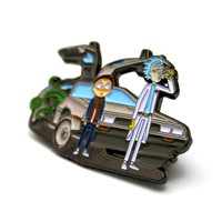 The Morty McFly & Doc Sanchez Pin