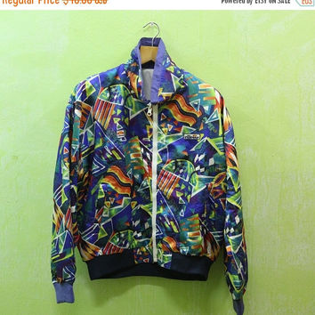15% SALES Vintage Ellese New York Pop Art Graffiti Street Andy Warhol Designer Jacket Coats