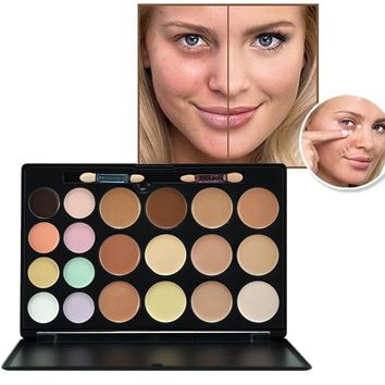 1Pc Brand 20 Colors Highlight Contour Palette 3D Contouring Makeup Corrector Concealer Cream Make Up Cosmetics Cream Y1-5