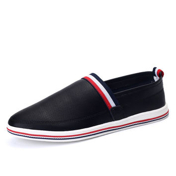 Hot Sale Comfort Casual On Sale Hot Deal Summer Fashion Stylish England Style Men's Shoes Anti-skid Sneakers [6544236867]