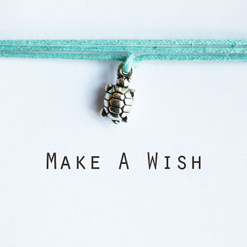 Make A Wish Turtle Bracelet