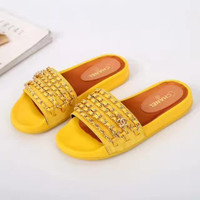 shosouvenir :CAHNEL Fashion casual men and women flip flops