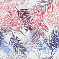 Rainbow Palms Removable Wallpaper