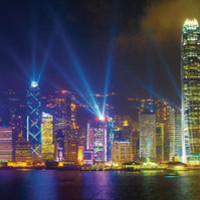 Victoria Harbour by Night