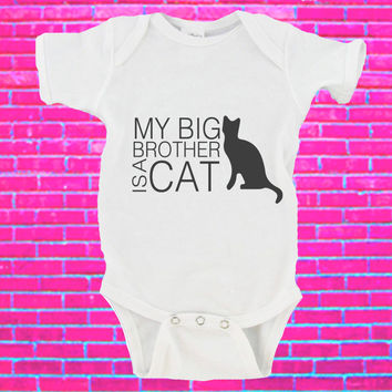 My Big Brother / Sister Is A Cat Gerber Onesuits ®