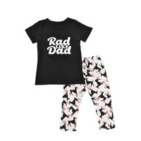 "Baby Boy ""Rad like Dad"" Shirt & Pant Set"