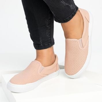 Tracer Slip-On Mauve Sneakers
