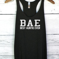 Best Auntie Ever BAE Tank Top