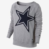 The Nike Wildcard Epic (NFL Cowboys) Women's Sweatshirt.