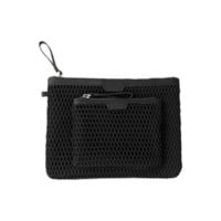 Black Mesh Clutch & Coin Purse