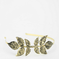 Sculpted Leaf Headband - Urban Outfitters