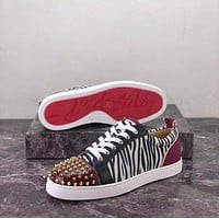 x1love  christian louboutin Lovers'Leisure Shoes