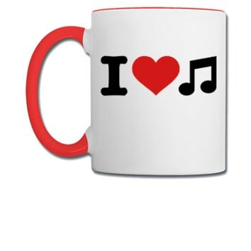 I love music  - Coffee/Tea Mug