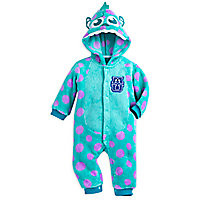 Sulley Fleece Costume Romper for Baby - Monsters University