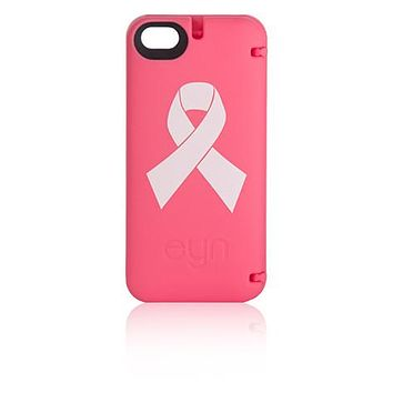 eyn wallet/storage case for Apple iPhone 4/4s - Think Pink