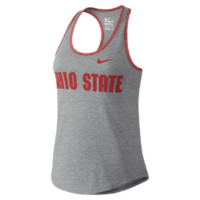 Nike College Marled Wordmark (Ohio State) Women's Tank Top