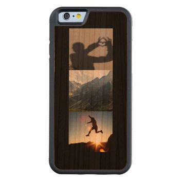 Create-Your-Own Photo Collage Wooden iPhone 6 Case
