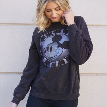 Mickey Mouse Metallic Sweatshirt
