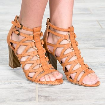 Cancun Strappy Block Heels
