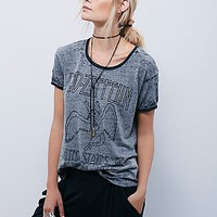 Trunk Ltd. for Free People Womens Led Zeppelin Tee