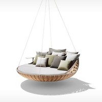DEDON: SWINGREST - Hanging lounger - natural