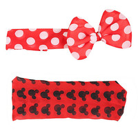 Disney Minnie Mouse Stretchy Headband 2 Pack | Hot Topic