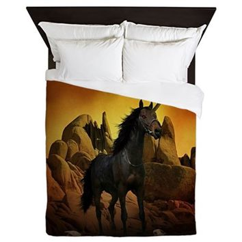UNICORN - THE DARK ONE QUEEN DUVET