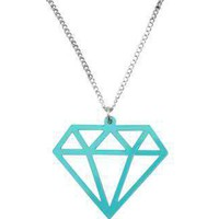 Simple Diamond | NECKLACE