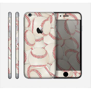 The Baseball Overlay Skin for the Apple iPhone 6