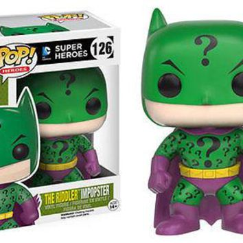 Funko Pop Heroes: The Riddler Batman Impopster Vinyl Figure