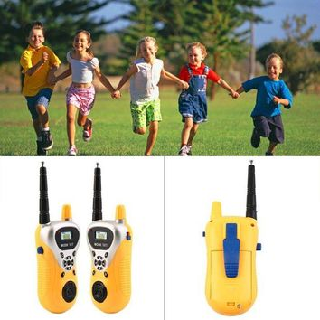 ONETOW Intercom Electronic Walkie Talkie Kids Child Mni Toys Portable Two-Way Radio
