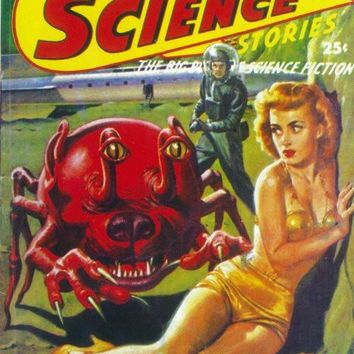 Super Science Stories 11x17 Pulp Poster (1942)