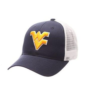 Licensed West Virginia Mountaineers Official NCAA Big Rig Adjustable Hat Cap by Zephyr KO_19_1