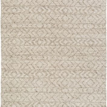 Ingrid Solids and Tonals Area Rug Neutral