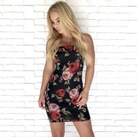 Love Note Floral Dress