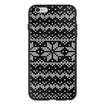 Holiday Edition Jolly Snowflake Sweater PlayProof Case for 6 Plus / 6s Plus