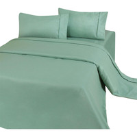 Full size Soft Microfiber Sheet Set in Sage Green - Stain Resistant