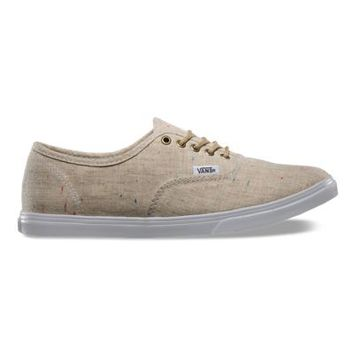 Vans Speckle Linen Authentic Lo Pro (tan)