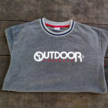 outdoor sweatshirt jumper vintage design sports wear