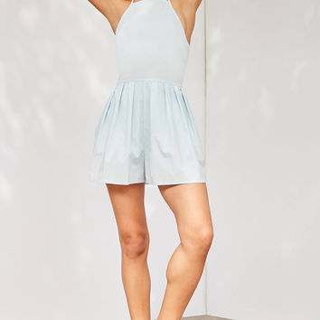 Cooperative Tennis Pleated Romper | Urban Outfitters