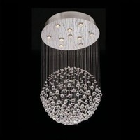 Lite Source Ceiling Lights 10 Light Egyptian Crystal Chandelier - LS-19582 - Ceiling Lights - Lighting