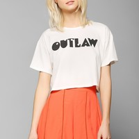 Bandit Brand Outlaw Cropped Tee - Urban Outfitters