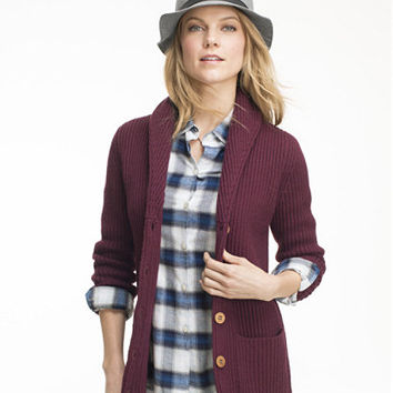 Signature Shawl Collar Cardigan: Sweaters | Free Shipping at L.L.Bean