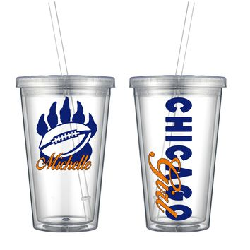 Chicago Acrylic Cup - Free Shipping