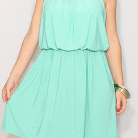 Mint Bridesmaid dress Short dress Mint green dress Party dress