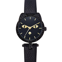Kate Spade Cat's Meow Watch Black ONE
